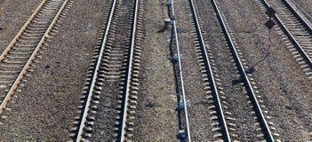 铁路路 免版税库存图片