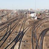 铁路路 图库摄影