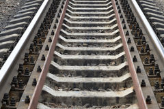 铁路轨道填装的框架 免版税库存图片