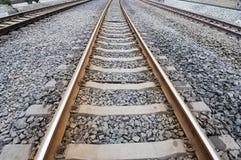 铁路轨道 库存图片
