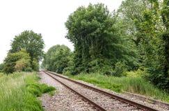 铁路轨道 库存照片