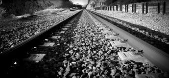 铁路轨道 免版税图库摄影