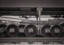 铁路轨 库存图片