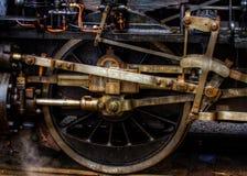 铁路轮子 免版税库存照片