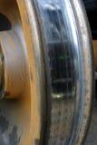 铁路轮子 免版税库存图片