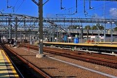 铁路运输围场 免版税库存照片