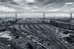 铁路运输插孔 库存图片