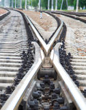 铁路运输跟踪 库存图片