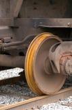 铁路运输轮子 库存照片