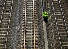 铁路运输&工厂 库存照片