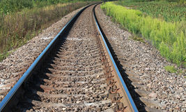 铁路透视 库存图片