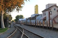 铁路道路 图库摄影