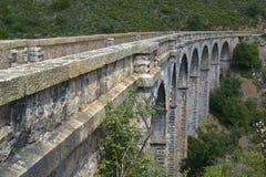 铁路高架桥 库存图片