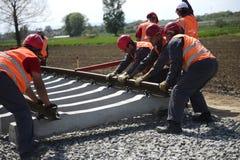 铁路建筑 库存图片