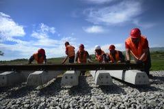铁路建筑 库存照片