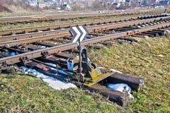 铁路 免版税库存照片