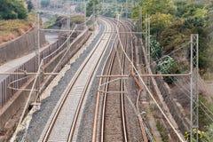 铁路 免版税图库摄影