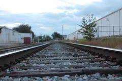 铁路 免版税库存图片