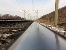 铁路1520 库存图片