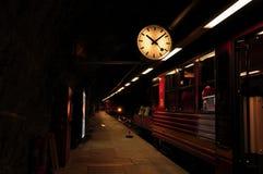 铁路Jungfraubahn终端  图库摄影