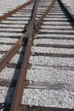 铁轨 免版税图库摄影
