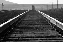 铁轨 库存照片