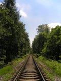 铁轨 图库摄影