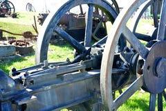 铁轮子细节 库存图片