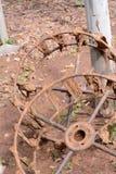 铁轮子 免版税库存照片