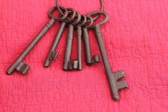 铁钥匙 免版税库存图片