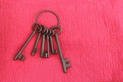 铁钥匙 库存图片