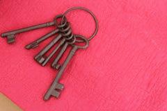 铁钥匙 免版税图库摄影