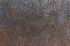 铁铁锈纹理 免版税库存照片