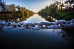 铁链节 库存图片