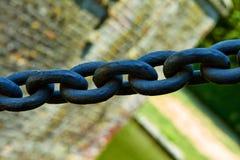 铁锁式桥梁电梯 免版税库存照片