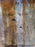 铁锈和白涂料 库存图片