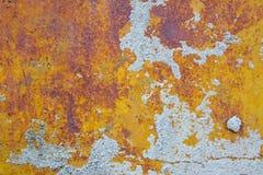 铁锈墙壁 免版税库存照片