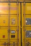 铁锈容器纹理 免版税库存照片