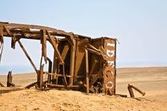 铁锈废墟 库存照片