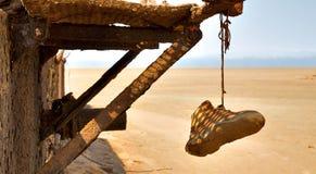 铁锈废墟 免版税图库摄影