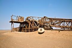 铁锈废墟 库存图片