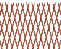 铁锈有尖刻的上面的铁篱芭 免版税图库摄影