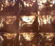 铁锈正方形 图库摄影