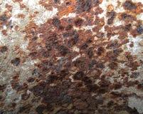铁锈特写镜头细节金属表面上的 库存照片