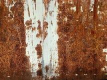 铁锈生锈的生锈的墙壁墙纸 免版税库存图片