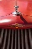 铁锈红色1971推托卡车 免版税库存照片