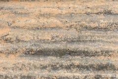 铁锈纹理锌背景的墙壁摘要 免版税库存图片