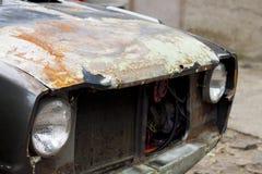 铁锈老汽车摄影 库存照片