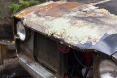 铁锈老汽车摄影 免版税库存图片
