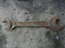 铁锈金属钥匙 库存照片